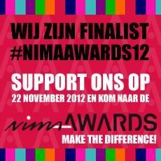 Hago Next finalist NIMA Awards 2012, hoe cool is dat?