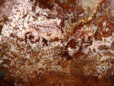 Calico Plume Agate Slab Rough New Find!  14.oz