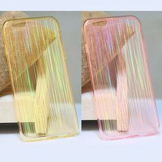 Luxury Bling Sleeve Crystal Clear Transparent Soft TPU Full Protection Case For…