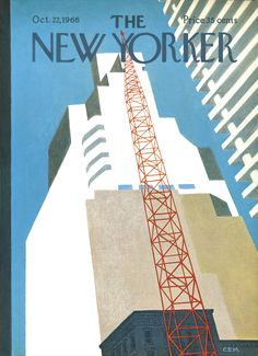 The New Yorker - Saturday, October 22, 1966 - Issue # 2175 - Vol. 42 - N° 35 - Cover by : Charles E. Martin