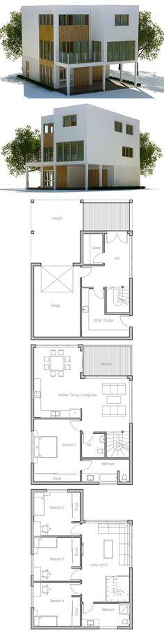 DesertRose,;,Modern House Plan,;,