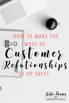 Building and maintaining customer relationships is key when it comes to making sales. Building those relationships can take work, but ultimately the rewards are worth is, here are. Small Business Help, Small Business Marketing, Creative Business, Business Tips, Online Business, Marketing Ideas, Inbound Marketing, Content Marketing, Email Marketing