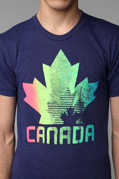 UrbanOutfitters.com > Homage Canada Leaf Tee, even though this is a guys tee i really love it!