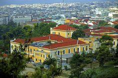 Hospital Agios Dimitrios Thessaloniki, Mansions, History, House Styles, Home Decor, Historia, Decoration Home, Manor Houses, Room Decor
