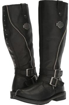 Harley-Davidson Sennett Women's Boots #harleydavidsonclothing