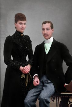 Bringing black and white pictures to life Korea Dress, Prince Albert, Victoria And Albert, Princess Mary, Black And White Pictures, Bring It On, Formal, Beauty, Dresses