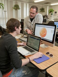 LCCC Career Program Computer Graphic Design by Lewis and Clark Community College, via Flickr