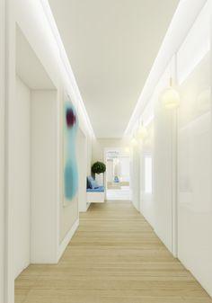 Projekt wnętrz apartamentu w stylu kalifornijskim w Warszawie - Tissu