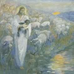 Rescue of the Lost Lamb by Minerva Teichert- store.lds.org. I MUST have this. Such a reminder of how Christ carries us when we feel lost or out of place.