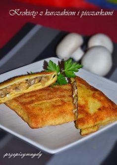 Polish Recipes, Polish Food, Finger Foods, French Toast, Food And Drink, Menu, Breakfast, Dinner Ideas, Diet