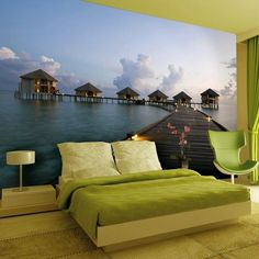 Maldives Dream Wall Mural #Cool, #Mural, #Wall