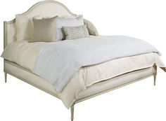 Hickory Chair | Simone King Upholstered Bed