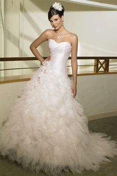 My wedding dress! I'm having it made as of right now. Hopefully it turns out as good as the picture! :)