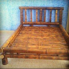 Cama sob medida do colchão, #cama #sobmedida #design #decoração #estilo #natural #arte #projeto #bambu #sustentabilidade #agradecidos