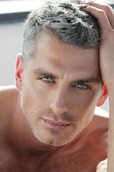 Laurence Nicotra - can we order a set of his eyes . . . dreamy.
