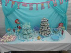 THE LITTLE MERMAID BIRTHDAY PARTY :-)