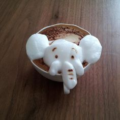 The Happy Elephant  The Incredible 3D Latte Art By Kazuki Yamamoto Will Amaze You All • Page 5 of 6 • BoredBug