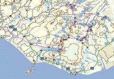 Navigation. Auf www.ourfootprints.de kann man eine geniale Island-Karte kostenlos downloaden. Die hilft uns die Reise zu planen!