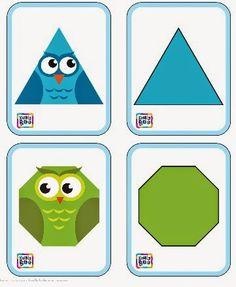 Tarjetas para trabajar la atención 3 http://kriblyboo.com/content/exercises/4/cards-owl-Kribly-boo-3.pdf