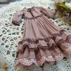 Kids Dress Wear, Dresses Kids Girl, Kids Outfits, Baby Girl Dress Patterns, Baby Dress, Vestidos Vintage, Vintage Dresses, Dress Anak, Dusty Rose Dress