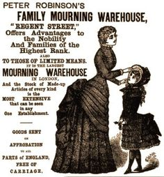 Victorian mourning | Funeral Education & History | Pinterest