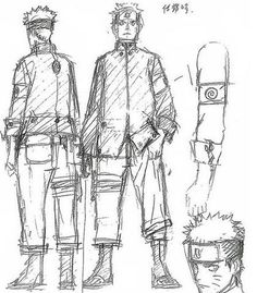 "Oringinal sketch of Naruto for the movie ""The Last: Naruto the Movie"". Drawn by Masashi Kishimoto. #Naruto #MasashiKishimoto #Sketch #ConceptArt #NarutoArt"