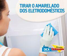 Tirar o amarelado dos eletrodomésticos — Supermercados Guanabara