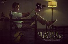 Joseph Gordon-Levitt - Flaunt by Michael Muller, October 2012