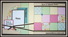 Pre-Cut Close to My Heart Layout Page Kit (2) 12 x 12 w/ Chantilly Paper CTMH | eBay $8.95 sus-williams@hotmail.com