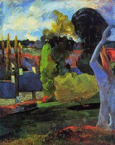 Paul Gauguin, Granja en Bretaña, colección particular, 1894 Carmen Pinedo Herrero