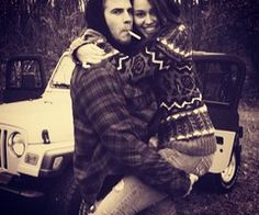 Liam Hemsworth and Miley Cyrus <3 Gorgeous couple!