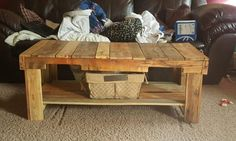 Custom Pallet Table Coffee Tables