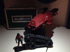 "G.I. Joe Pursuit of Cobra ""Crimson Hiss"" with ""Crimson Hiss Horseman"""