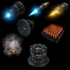 7 Sci-Fi Items Showcase by eRe4s3r.deviantart.com on @deviantART