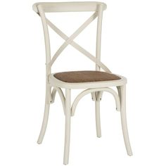 Distinguished and modish, the August Grove Essie Cross Back Side Chair (Set of 2) will bedeck the room with a touch of grace. An 'X' back design, the chair sports a sleek and subtle structure. Upholstered with premium quality fabric, it is accented with understated elegance. It has a padded seat and back, which ensures a comfortable seating experience. The frame of the chair is available in multiple lustrous finishes, which is perfect for homes with cottage decors. Made using oak wood...