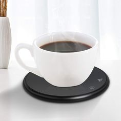 【Unique Coffee Mug Warmer】 This coffee mug warmer is suitable for different sizes of mugs, you need to know is that ensure your cup is flat, flat ceramic,glass, paper, stainless steel cups, baby bottles,our cup heater can be contact with bottom, not use plastic cups or double vacuum. Coffee Cup Warmer, Tea Warmer, Coffee Cups, Cocoa Tea, Stainless Steel Cups, Specialty Appliances, Unique Coffee Mugs, Plastic Cups, Small Kitchen Appliances