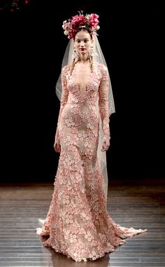 Naeem Khan from Best Looks From the Fall 2016 Bridal Collections | E! Online