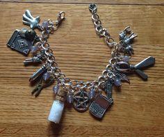 Supernatural Themed Bracelet by TraceyGurney on Etsy, $20.00