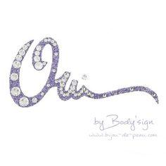 Bijou de peau Oh Oui Body'sign violet cristal