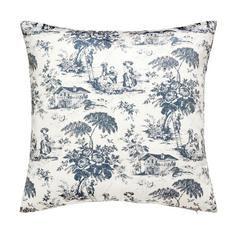 Blue Chateau Cushion