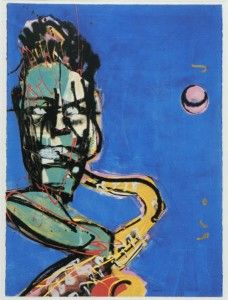Herman Brood. Titel: Saxofonist