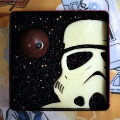 Star Wars Storm Trooper Cake