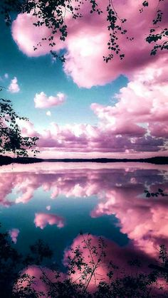 Reflecting pink sky Wallpaper by Goodfellagrl - - Free on ZEDGE™ now. Browse millions of popular clouds Wallpapers and Ringtones on Zedge and personalize your phone to suit you. Browse our content now and free your phone Pink Clouds Wallpaper, Night Sky Wallpaper, Wallpaper Space, Summer Wallpaper, Scenery Wallpaper, Iphone Background Wallpaper, Aesthetic Pastel Wallpaper, Landscape Wallpaper, Colorful Wallpaper