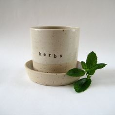 Ceramic Herb Planter