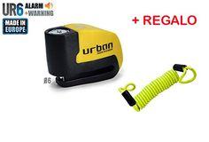 cool URBAN - Candado de disco UR6 con Alarma 6mm 120dba + REGALO Cable Reminder antiolvido Mas info: http://www.comprargangas.com/producto/urban-candado-de-disco-ur6-con-alarma-6mm-120dba-regalo-cable-reminder-antiolvido/