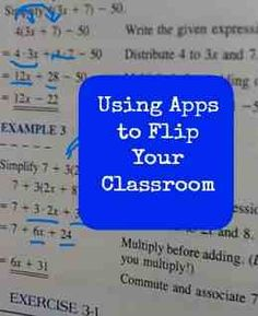 The Teacher Report: Apps for a Flipped Classroom (Explain Everything app - need to try! Flipped Classroom, School Classroom, Classroom App, Teaching Strategies, Teaching Tips, Teaching Math, Teaching Technology, Educational Technology, Educational Leadership