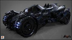 : Total parts : 4164 Batmobile Arkham Knight, Batman Arkham, Batman Redesign, Batman Suit, Zombie Hunter, Futuristic Motorcycle, Animation Reference, Marvel, Batmobile