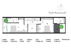 21 House,Second Floor Plan