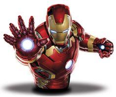 Avengers Age of Ultron Spardose Iron Man 20 cm   Marvel Comics Spardosen - Hadesflamme - Merchandise - Onlineshop für alles was das (Fan) Herz begehrt!