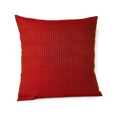 Throw Pillow Cover Burnt Orange Home Decor by GigglesOfDelight, $16.00